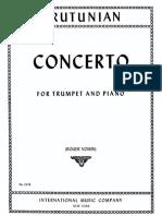 Arutunian Trumpet Concerto PDF