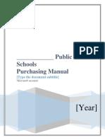 2-Purchasing Manual Final WORF Jan 2016