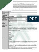 Infome Programa de Formación Titulada programa mecanico de maquinaria industrial.pdf