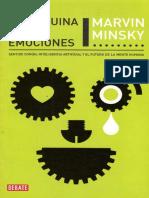 Maquina de Las Emociones, La - Minsky Marvin