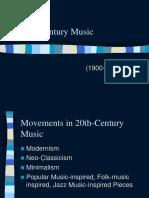 20 Th Century Music