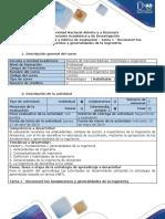Guía de Actividades y Rúbrica de Evaluación - Tarea 1 - Reconocer Los Fundamentos y Generalidades de La Ingeniería