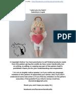 Valentine s Cupid English Free Pattern
