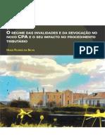 O Regime Das Invalidades e Da Revogação No Novo CPA e o Seu Impacto No Procedimento Tributário_Hugo Flores Da Silva