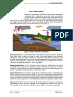 Conceptos Básicos Del Ciclo Hidrológico.
