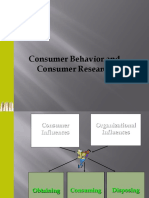 Consumer Behaviour and Consumer Research