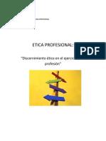 Clases de Etica Tercer Modulo Analisis de Casos Segundo 2018