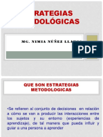 Diapositivas de Estrategias Metodologicas