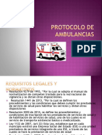 Protocolo de Ambulancias