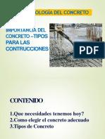 01 Clase -Importancia de La Tecnologia Del Concreto -Utp-2019-1 (1)