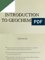 PET 720 05 Geochemistry