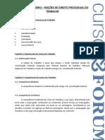 Caderno_Processo Do Trabalho