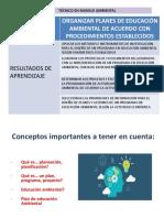 Elaboracion Plan Educación Ambiental 2019