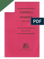 Jimenez Mario - Cuentos y recuentos 1967 - 1971.pdf