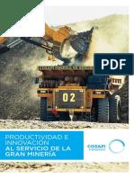 -Mineria.- Brochure, Productividad e Innovacion Al Servicio de La Gran Mineria