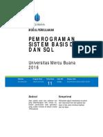 Modul ProgDB 11 Package