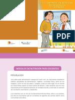 Guía de Alimentación, Actividad Física y Nutrición Para Docentes