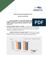Raport al Ministerului Finanțelor Publice privind execuția bugetară în primul trimestru al anului 2019