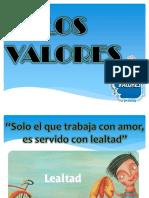 valores  lealtad