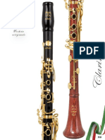 Patricola Catalogo Clarinetti 2018 2.0 IT