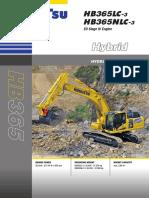 Excavator Pe Senile HB365-3