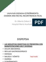 Dispepsia Disfagia Estreñimiento 2016 II