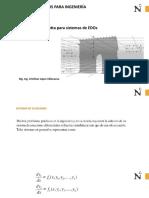 Sistema de Ecuaciones Edos