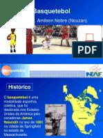 Hitórico e Regras Do Basquetebol - Aula 2