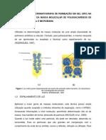 Aplicação Da Cromatografia de Permeação Em Gel (Gpc) Na Determinação Da Massa Molecular de Polissacarídeos de Orgiem Vegetal e Microbiana