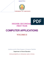 11th Std-Computer Applications Vol-II EM - Www.tn11th.in