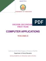 11th Std-Computer Applications Vol-II EM - Www.tn11th.in