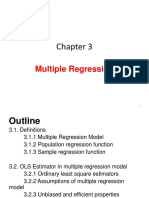 Ch 3 Multiple Regression S