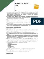 Regulamento conscurso FNAC