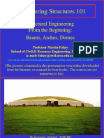 presentation - Beams Arches and Domes