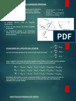 Ecuaciones Basicas de La Maquina Sincrona