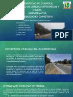 Carreteras i - Visibilidad y Distancia