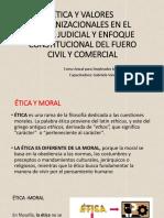 Etica y Valores Organizacionales en El Poder Judicial [Autoguardado]