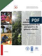Business Case for Mainstreaming Gender in REDD+ UN-REDD Programme - December 2012, SPANISH