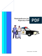 Municipailização das ações de segurança pública - projeto
