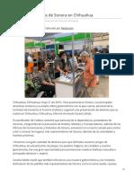 21-05-2019 - Presentan Destinos de Sonora en Chihuahua - Canalsonora.com