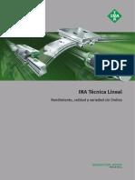Catalogo INA Tecnica Lineal