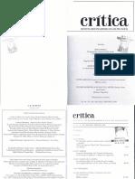 Revista Hispanoamericana de Filosofía