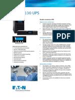 Unidad de Fuerza Ininterrumpible de 1.5 Kva. Brochure 1