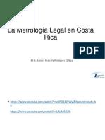 La Metrologia Legal en Costa Rica