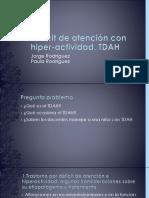Déficit de Atención Con Hiper-Actividad