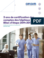 Rapport Conference Nationale 3 Ans de Cac Hopitaux