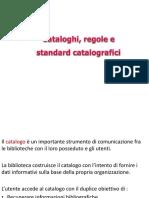 Bibliografia, cataloghi
