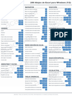 Guia de Atajos Excel