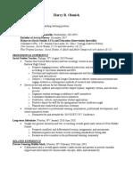 olenick resume