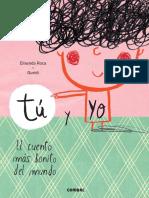 Tu y Yo El Cuento Mas Bonito Del Mundo 9788491010388 (1)